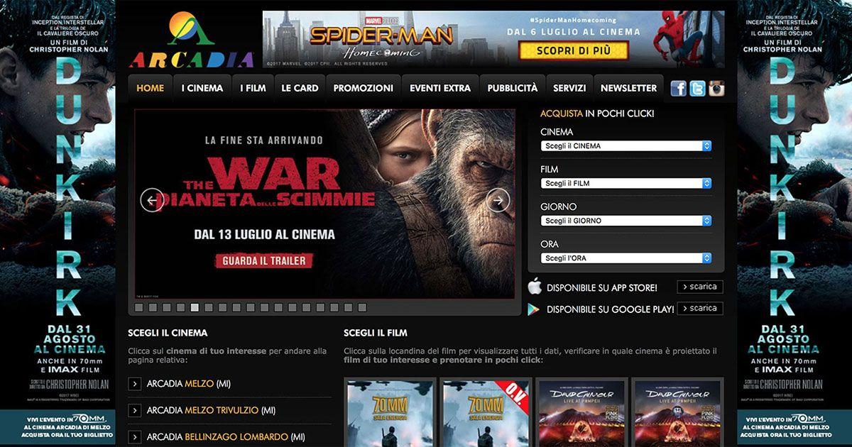 Creazione e gestione siti per cinema - Immagine: 2