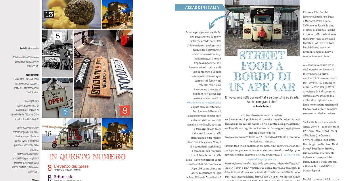 Food Truck Advisor Magazine - Immagine: 2